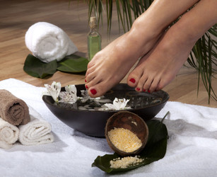 Detoxifying Foot Scrub