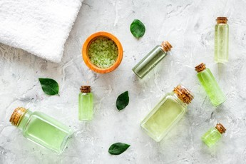 Green Tea Bath Salts