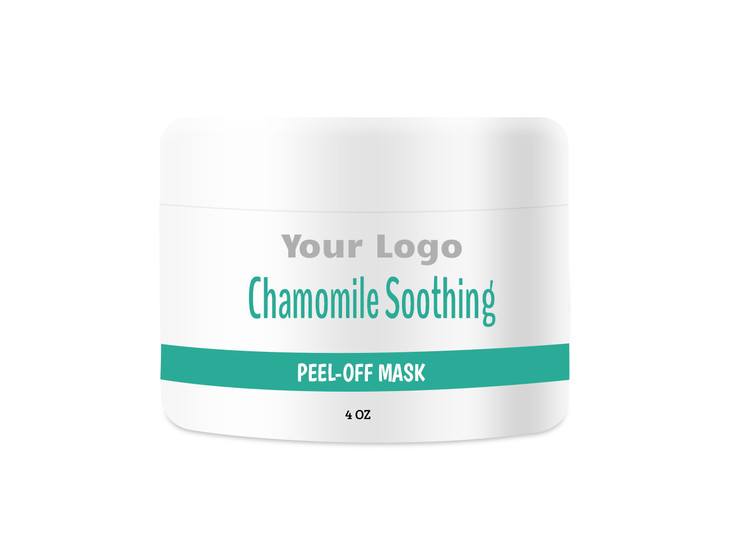 Chamomile Soothing Peel-Off Mask Private Label, Chamomile Soothing Peel-Off Mask Contract Manufacturing, Contract Manufacturer Chamomile Soothing Peel-Off Mask, OEM Chamomile Soothing Peel-Off Mask, Custom Chamomile Soothing Peel-Off Mask