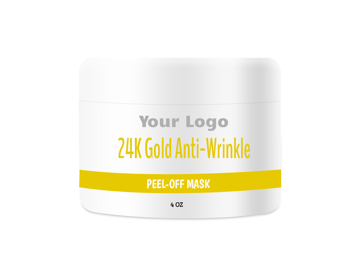 24K Gold Peel-Off Mask Private Label, Contract Manufacturing 24K Gold Peel-Off Mask, Contract Manufacturer 24K Gold Peel-Off Mask, 24K Gold Peel-Off Mask OEM, Custom 24K Gold Peel-Off Mask