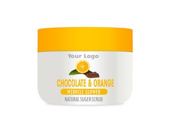 Chocolate & Orange Body Scrub