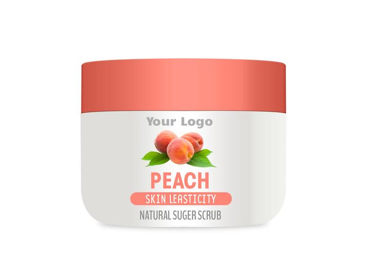 Private Label Peach Sugar Scrub, Peach Sugar Scrub Contract Manufacturing, Contract Manufacturer Peach Sugar Scrub, OEM Peach Sugar Scrub, Custom Peach Sugar Scrub