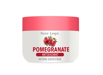 Pomegranate Sugar Scrub